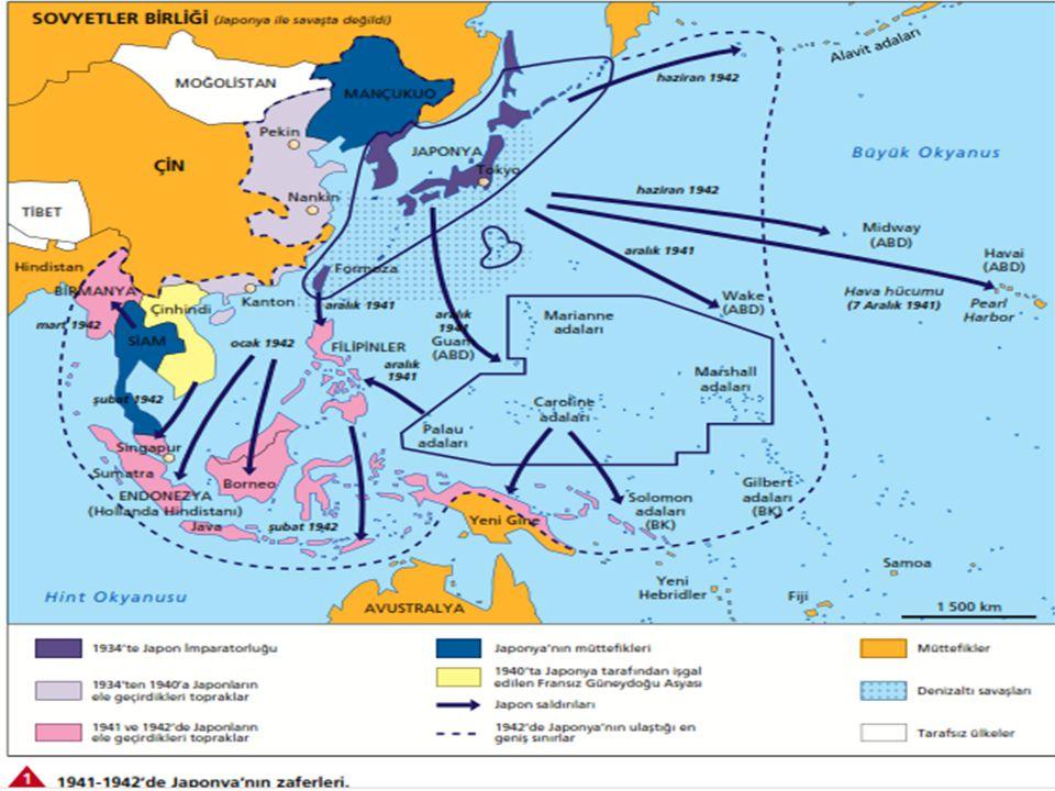 Hatta, dünyanın değişik bölgelerinde bulunan birçok devlet de, içinde bulundukları bloklara uygun, birbirleriyle savaşa girmişlerdir. Böylece, savaş