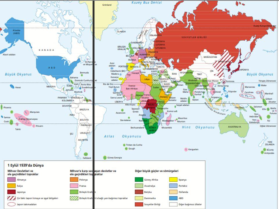  Almanya, bu amaçlarına ulaşmak için öncelikle, Orta Avrupa ve Güney-Doğu Avrupa topraklarını ele geçirmeye çalışmıştır.