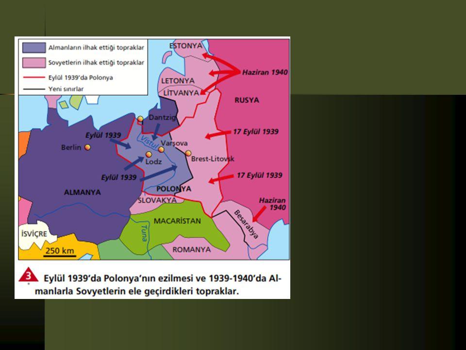  Polonya, bu istekleri kabul etmekle birlikte, temsilcisinin istenilen tarihte Berlin'e gitmemesi üzerine Almanya harekete geçmiştir. Alman birlikler