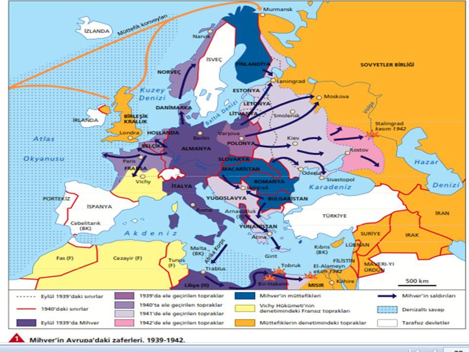  Almanya, Fransa'yı savaş dışı bıraktıktan sonra İngiltere'ye yönelmiştir. Ancak, Almanların, çetin İngiliz direnişi karşısında, İngiliz adalarında h