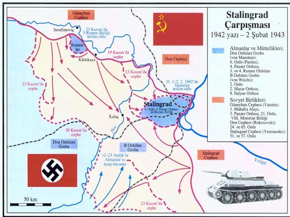  Kuzey ordusu da, Baltık ülkelerinden hareket ederek Leningrad üzerine yürümüştü. Ancak, Sovyet halkının direnişi üzerine Almanlar, Leningrad'ta durd