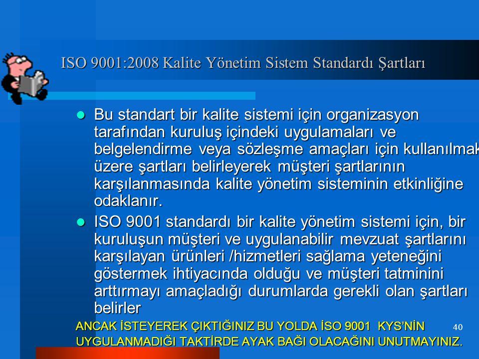 4.5 Kalite 4.5 Kalite Asli Kanıtlar:  Oda/borsanın faaliyetlerinin bütünsel ve sistematik olarak algılanması ve idare edilmesini sağlayan bir yönetim