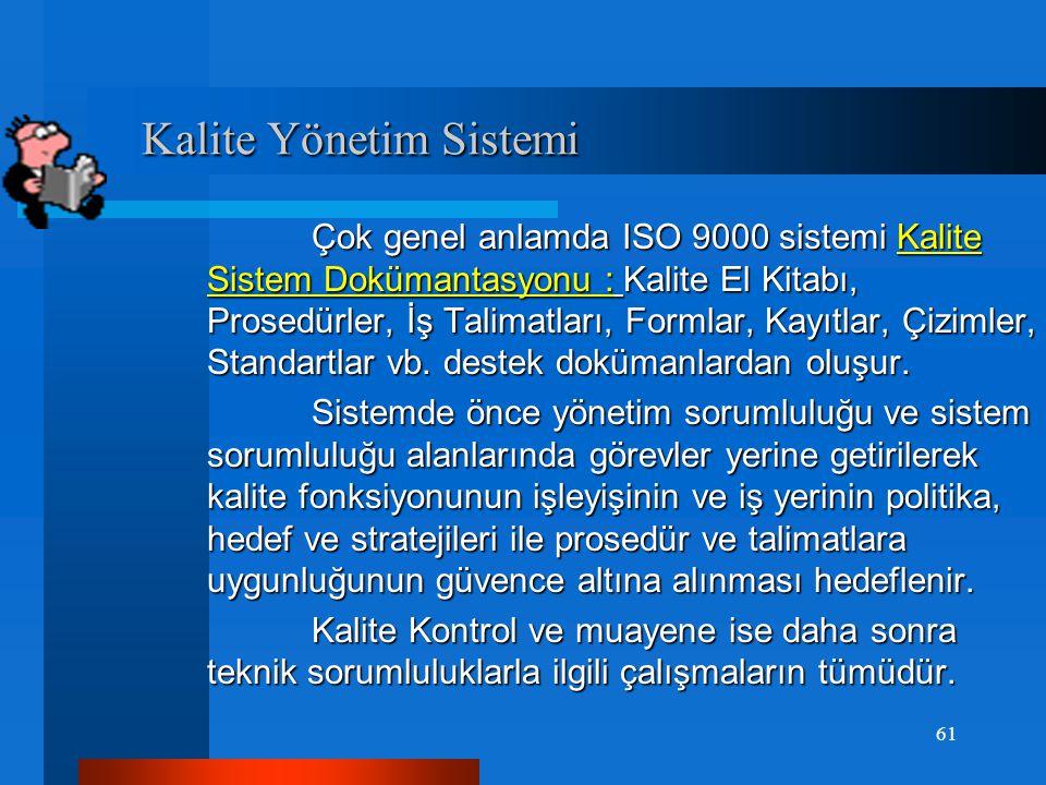 """ISO 9001:2008 KYS Standardı ISO 9001:2008 KYS Standardı  """"Alınan tedbirlerin etkinliğini değerlendirmeli"""" ifadesi """"gerekli yetkinlik sağlanmalıdır"""" o"""