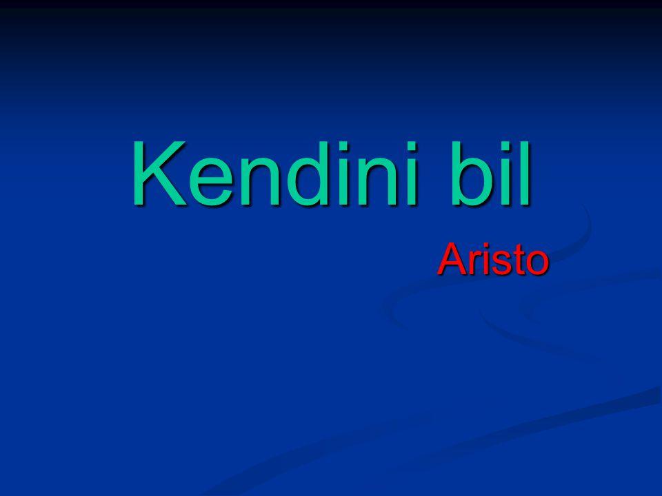 Kendini bil Aristo Aristo