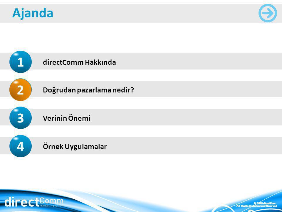 © 2009 directCom.All Rights Protected and Reserved Doğrudan pazarlama nedir.