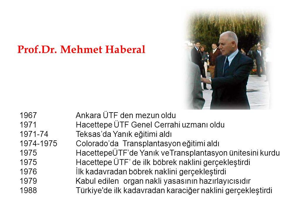 1967 Ankara ÜTF den mezun oldu 1971 Hacettepe ÜTF Genel Cerrahi uzmanı oldu 1971-74 Teksas'da Yanık eğitimi aldı 1974-1975 Colorado'da Transplantasyon
