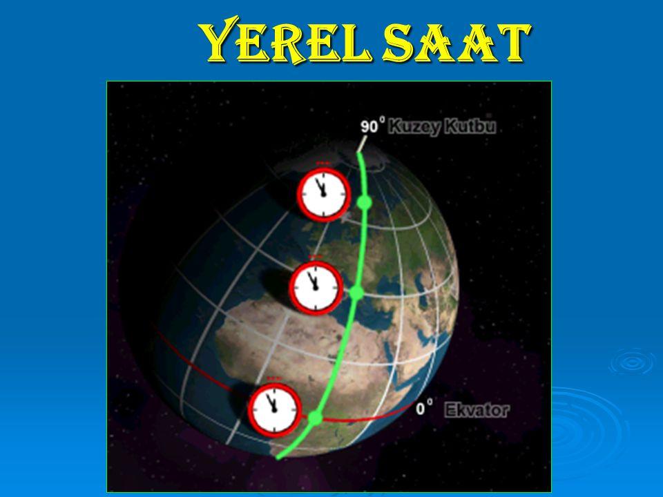 YEREL SAAT