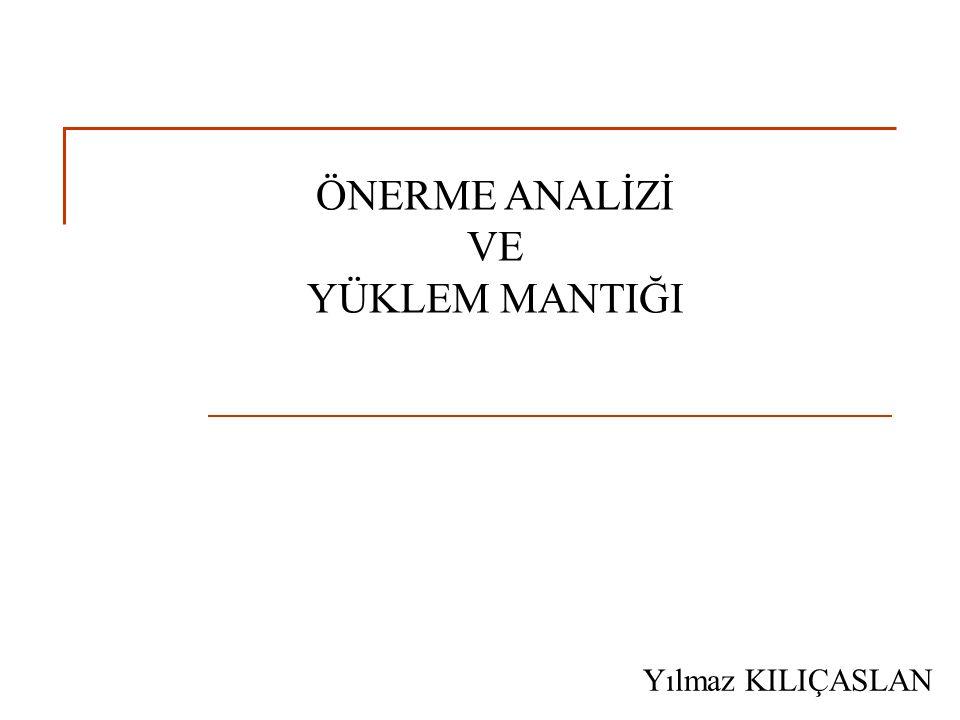 L 2 Dili (3) B.Semantik Kurallar (Devam) 4.