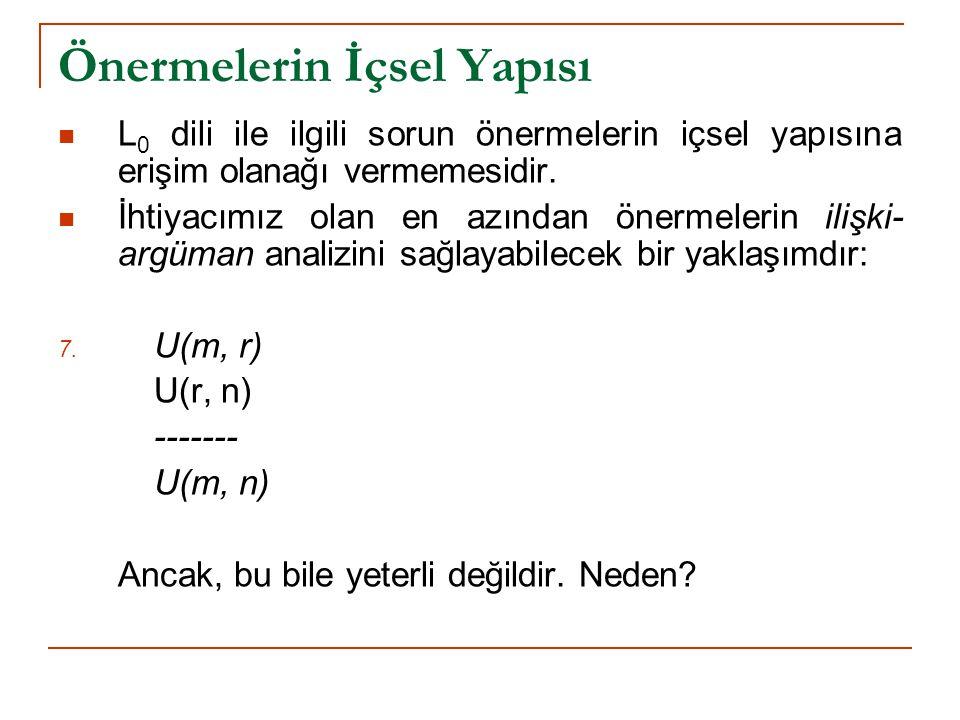 L 1 Dili (1)  SÖZDİZİM: A.