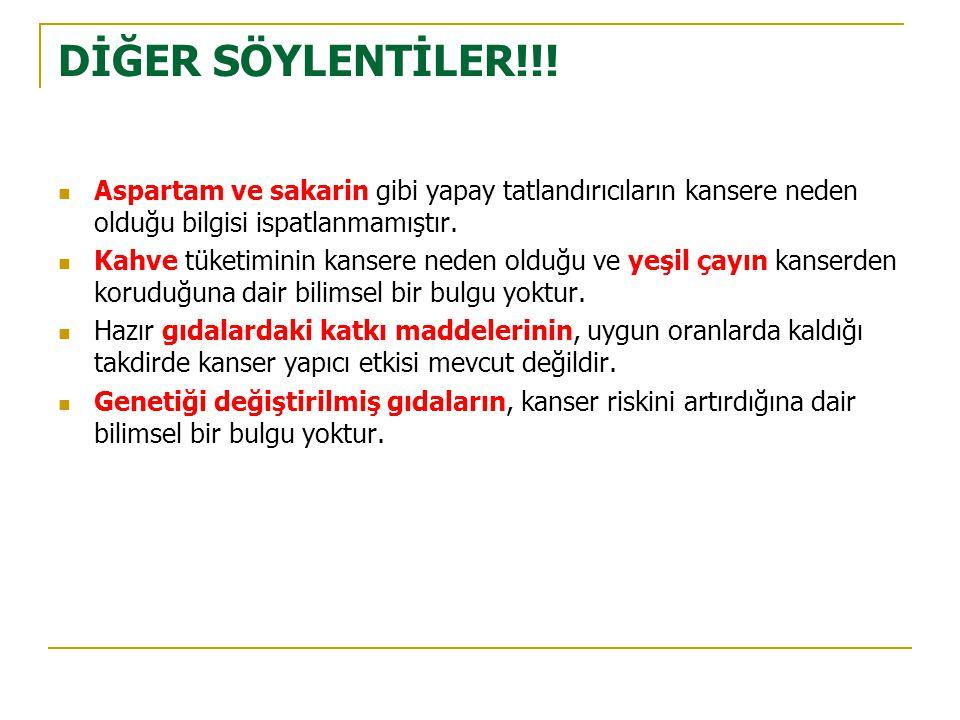 DİĞER SÖYLENTİLER!!.