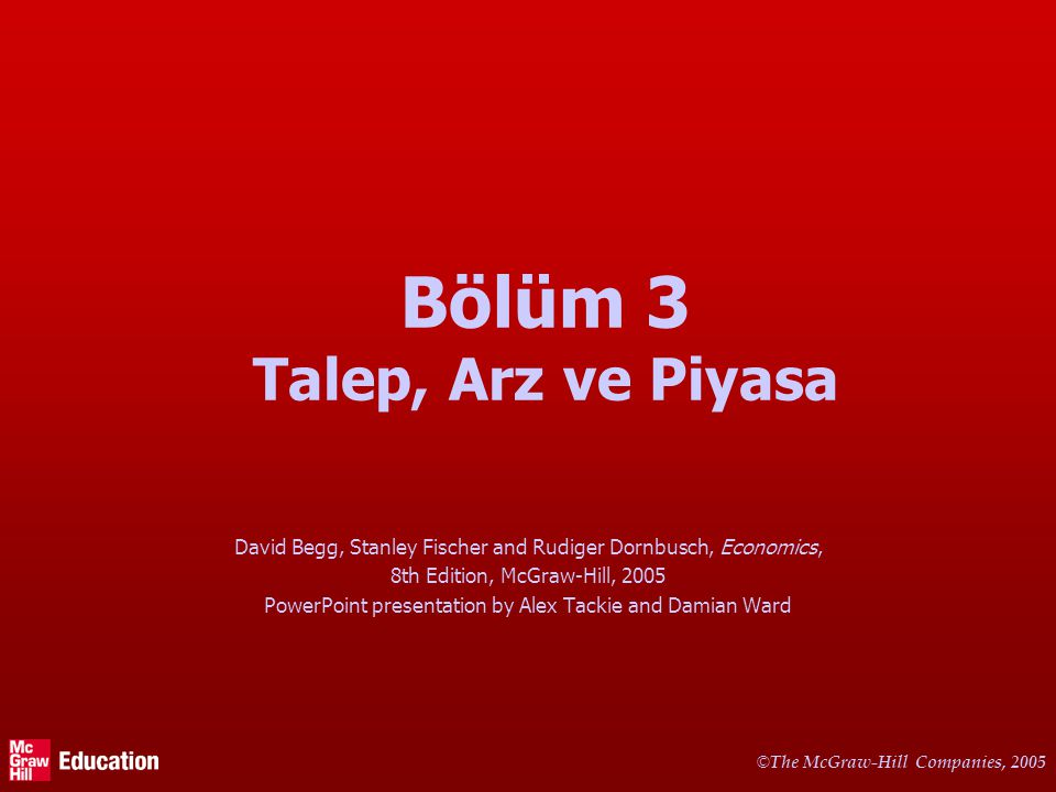 © The McGraw-Hill Companies, 2005 11 Arz Doğrusu ne zaman kayar.