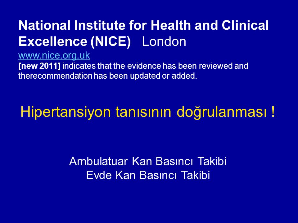 National Institute for Health and Clinical Excellence (NICE) London www.nice.org.uk [new 2011] indicates that the evidence has been reviewed and there