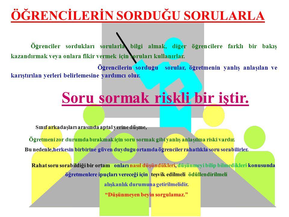 Strateji 7 : Benzer veya Farklı Kavramları, olguları, olayları değerlendirerek karşılaştırmayı gerektiren sorular sorun. Örnek: Atatürk ile Fatih Sult