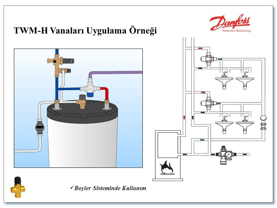  Boyler Sisteminde Kullanım TWM-H Vanaları Uygulama Örneği