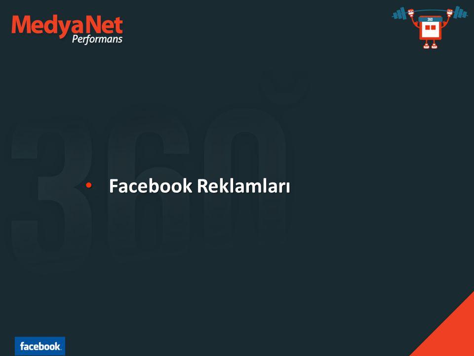 • Facebook Reklamları