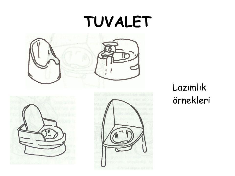 TUVALET Lazımlık örnekleri