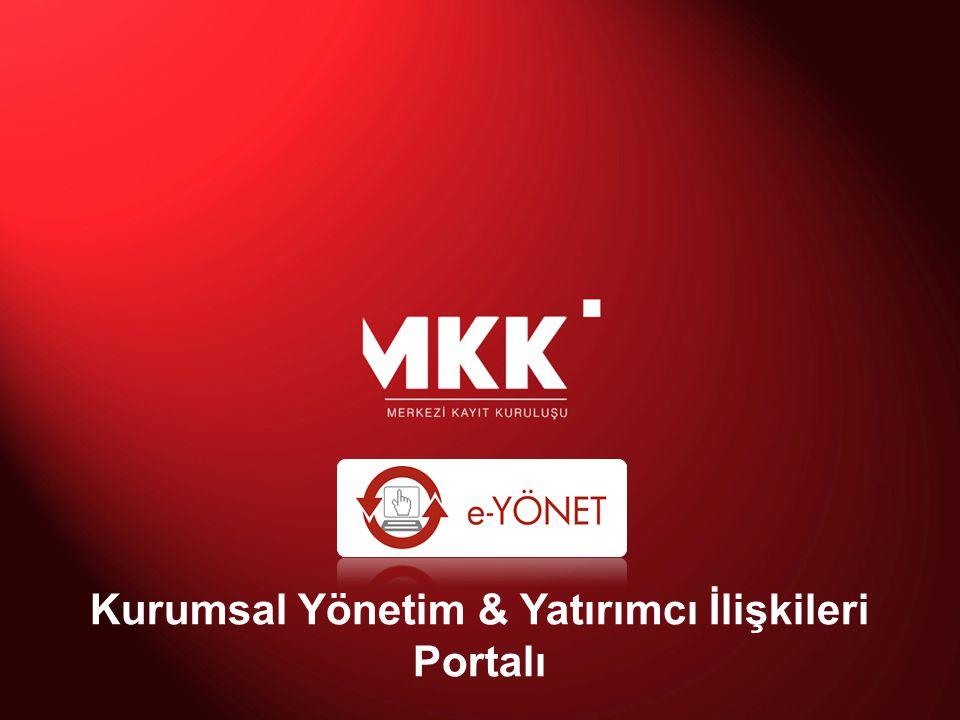 1 Kurumsal Yönetim & Yatırımcı İlişkileri Portalı