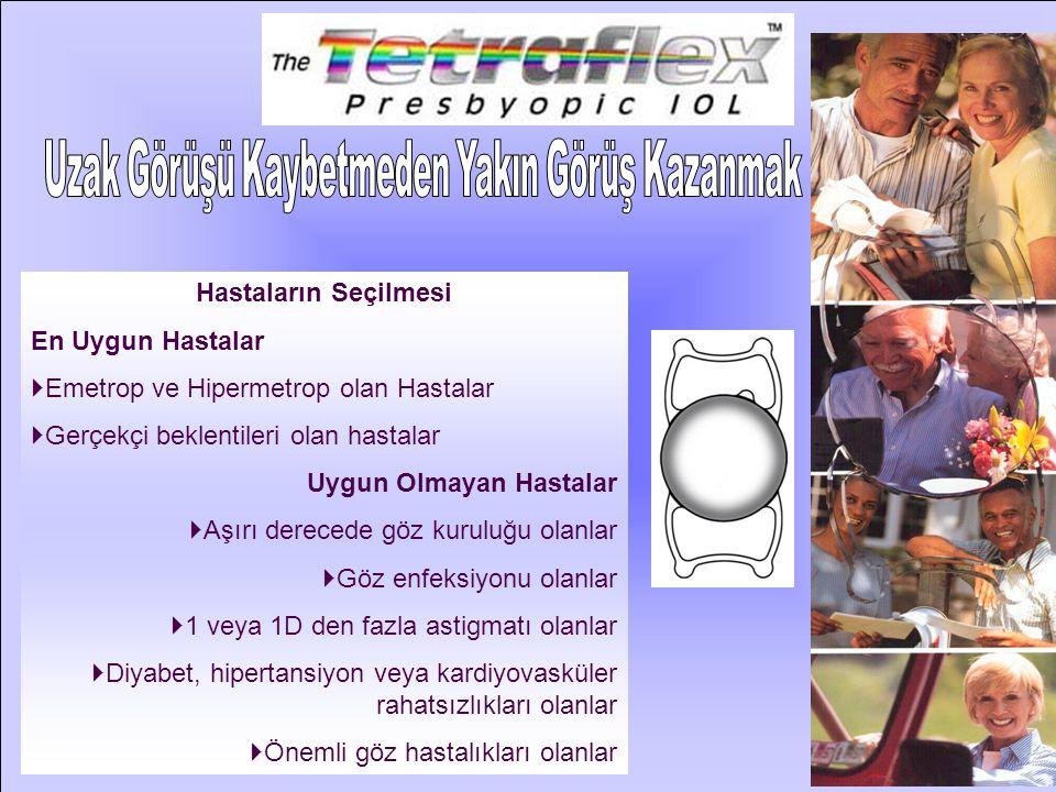 Ameliyat Öncesi Hazırlık:  Standart katarakt ameliyatı ölçümü yapılır.