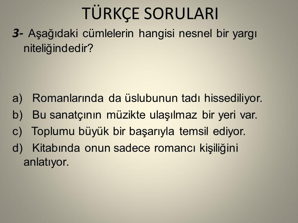 SOSYAL BİLGİLER SORULARI 2- Temmuz 1919 da yapılan Erzurum Kongresin ne göre manda ve himaye kabul edilemez kararı alınmıştır.