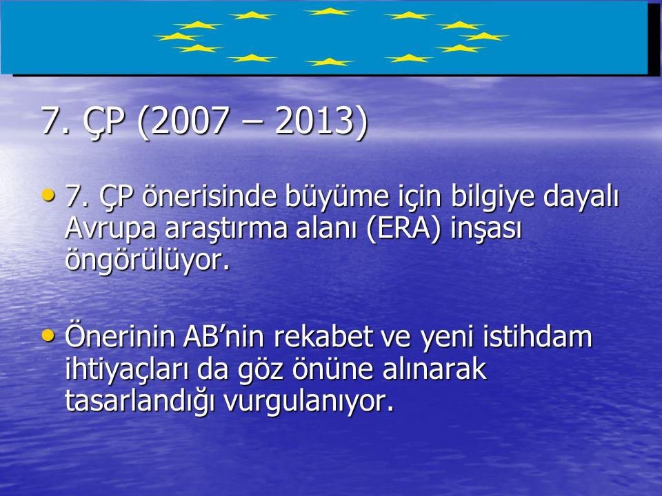 7.ÇP (2007 – 2013) • 7.