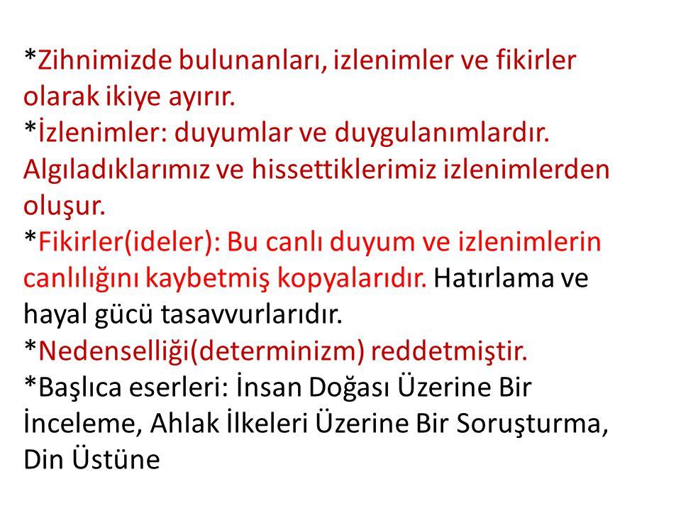 3-Eleştiri Felsefesi(Kritisizm) • Kurucusu İmmanuel Kant (1724-1804)'tır.