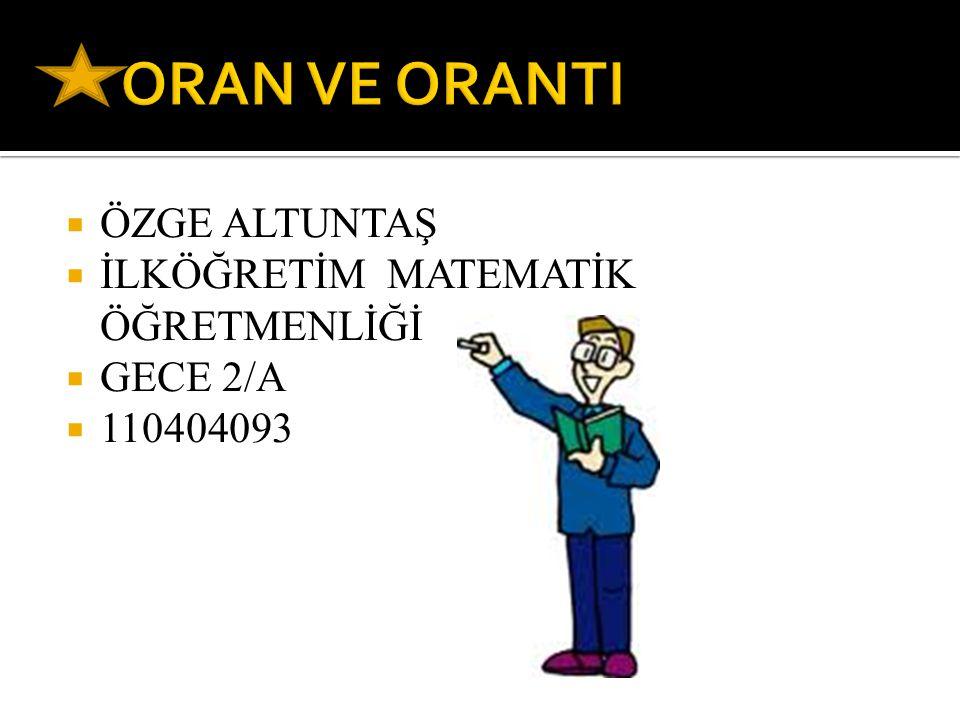  ÖZGE ALTUNTAŞ  İLKÖĞRETİM MATEMATİK ÖĞRETMENLİĞİ  GECE 2/A  110404093