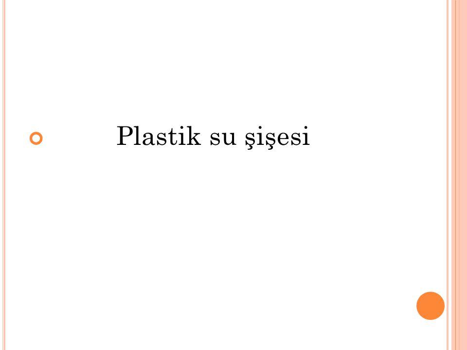Plastik su şişesi