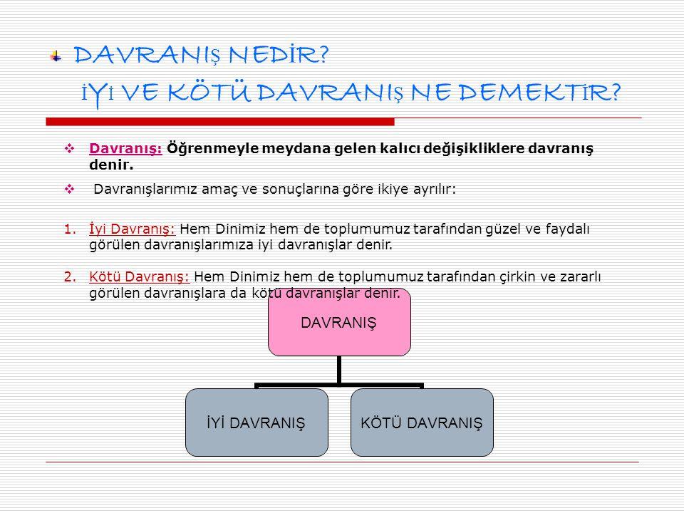 BA Ş KALARINA ZARAR VERMEK KUL HAKKI YEMEKT İ R.