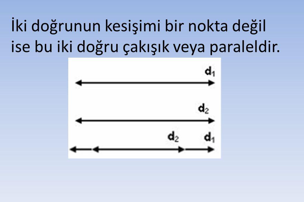 4. 6 Doğrudan dördü bir A noktasından geçmektedir. Bu doğrular en çok kaç noktada kesişir?