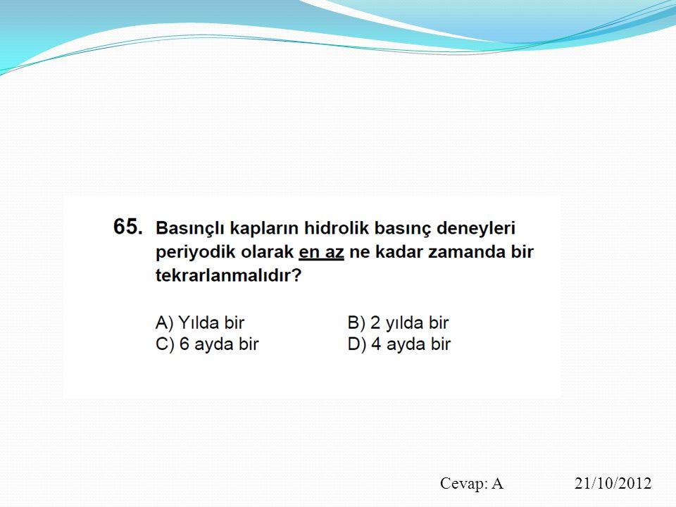 Cevap: A 21/10/2012