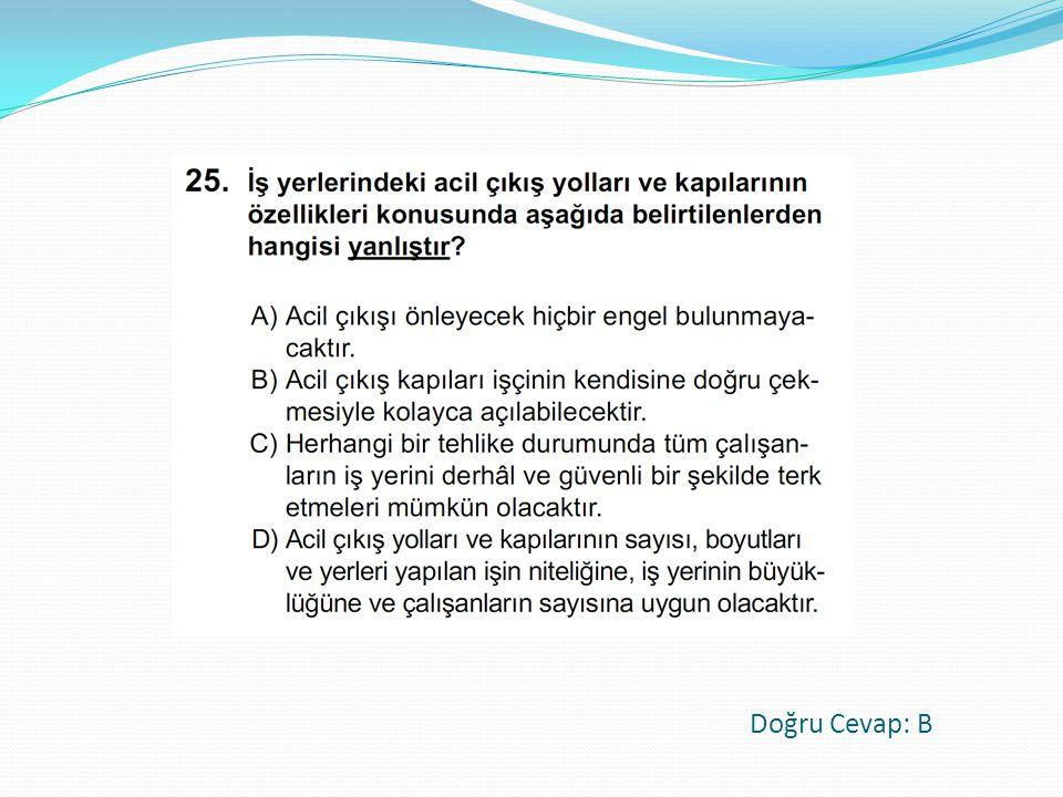 Cevap: B 21/10/2012