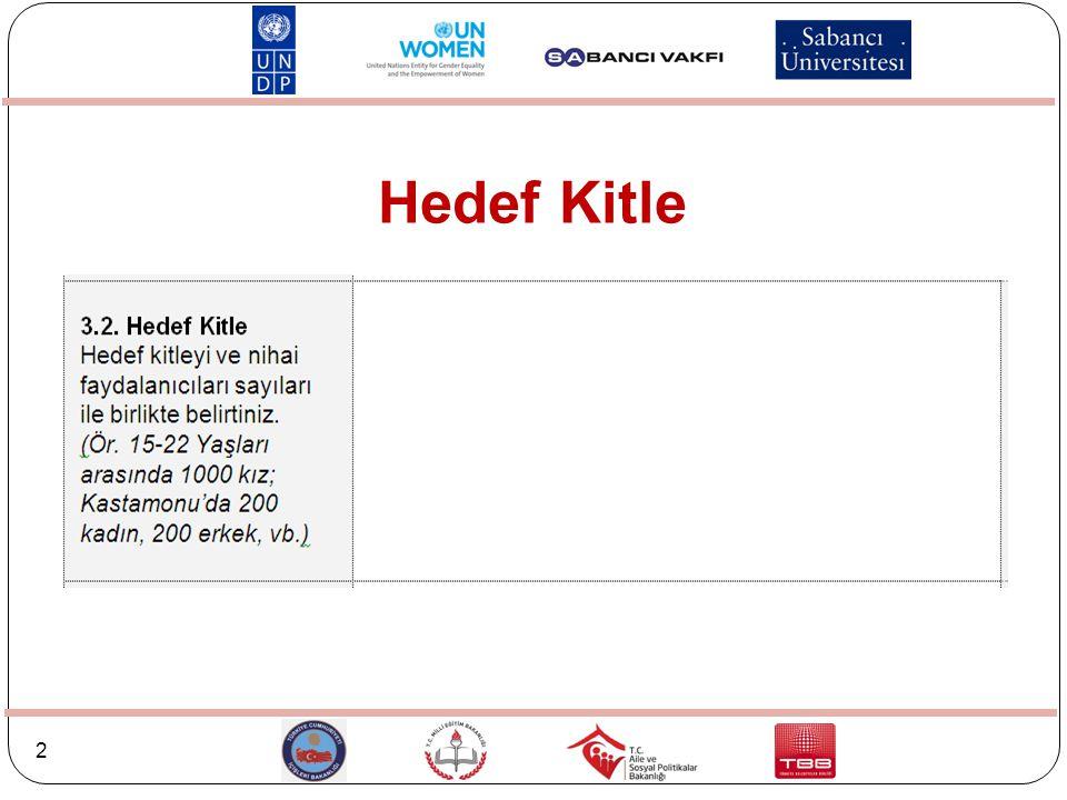 2 Hedef Kitle