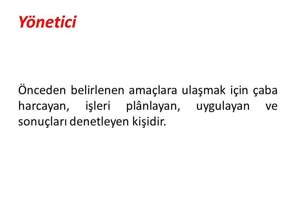 Lider Bağlı bulunduğu grubun amaçlarını belirleyen ve bu amaçlar doğrultusunda grup üyelerini etkileyen ve davranışa yönlendiren kişidir (Sabuncuoğlu, 1996, s.182).