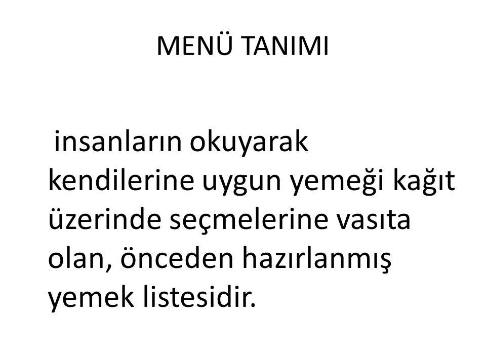 • Ör: Bol baharatlı ve acılı yemekler Gaziantep restorantında ilgi görürken aynı yemekler İzmit restoranında ilgi görmeyebilir.