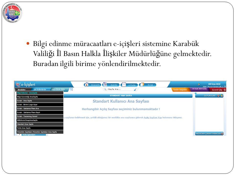 Varsa eklenecek dosya alanında kullanıcı, ba ş vuranı bilgilendirmek üzere eklemek istedi ğ i dosyaları ekleyebilir..