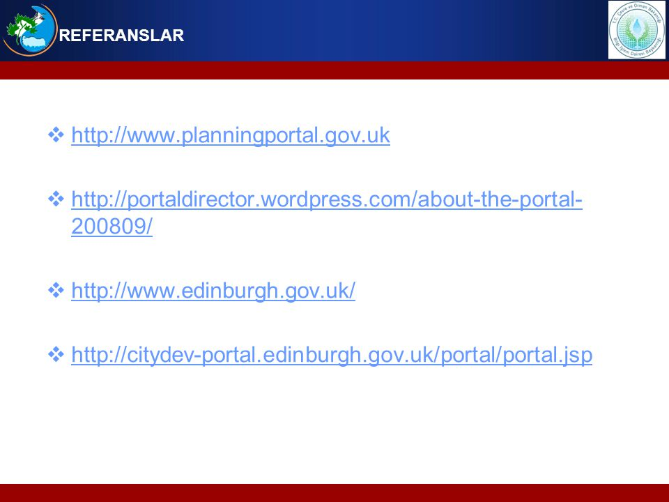  http://www.planningportal.gov.uk http://www.planningportal.gov.uk  http://portaldirector.wordpress.com/about-the-portal- 200809/ http://portaldirec