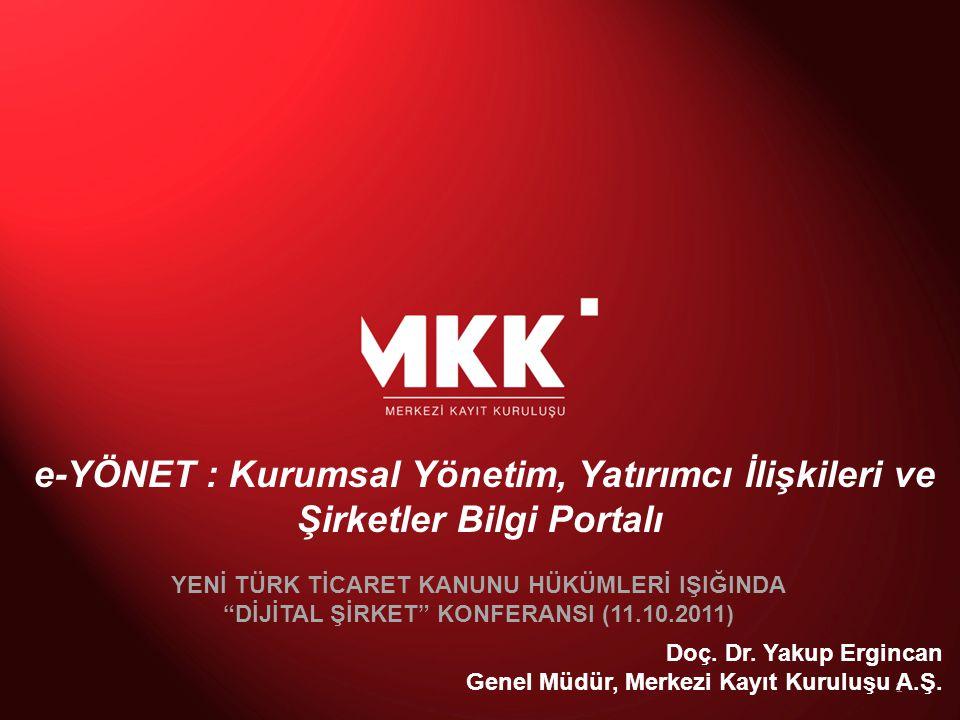 •Merkezi Kayıt Kuruluşu (MKK) •Merkezi Kaydi Sistem Yazılımı (MKS) •Kaydi Sistem Hizmetleri •Finansal Hesaplar Merkezi & Rakamlarla MKK •Yatırımcı Bilgilendirme Hizmetleri •Projeler ve İstanbul Finans Merkezi •e-YÖNET: Kurumsal Yönetim & Yatırımcı İlişkileri Portalı •e-VERİ: Sermaye Piyasaları Veri Bankası •e-ŞİRKET: Şirketler Bilgi Portalı GÜNDEM 2