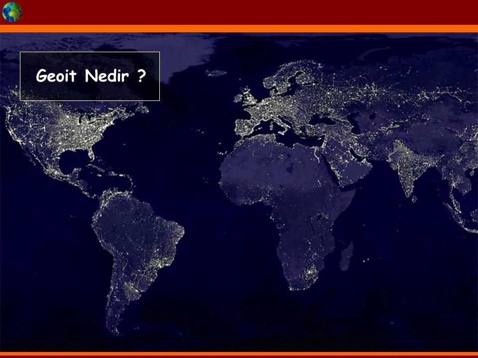 Geoit: Dünya'nın Kutuplar'da basık Ekvator'da şişkince olan özel şekline Geoit denir. Yer'in Şekli