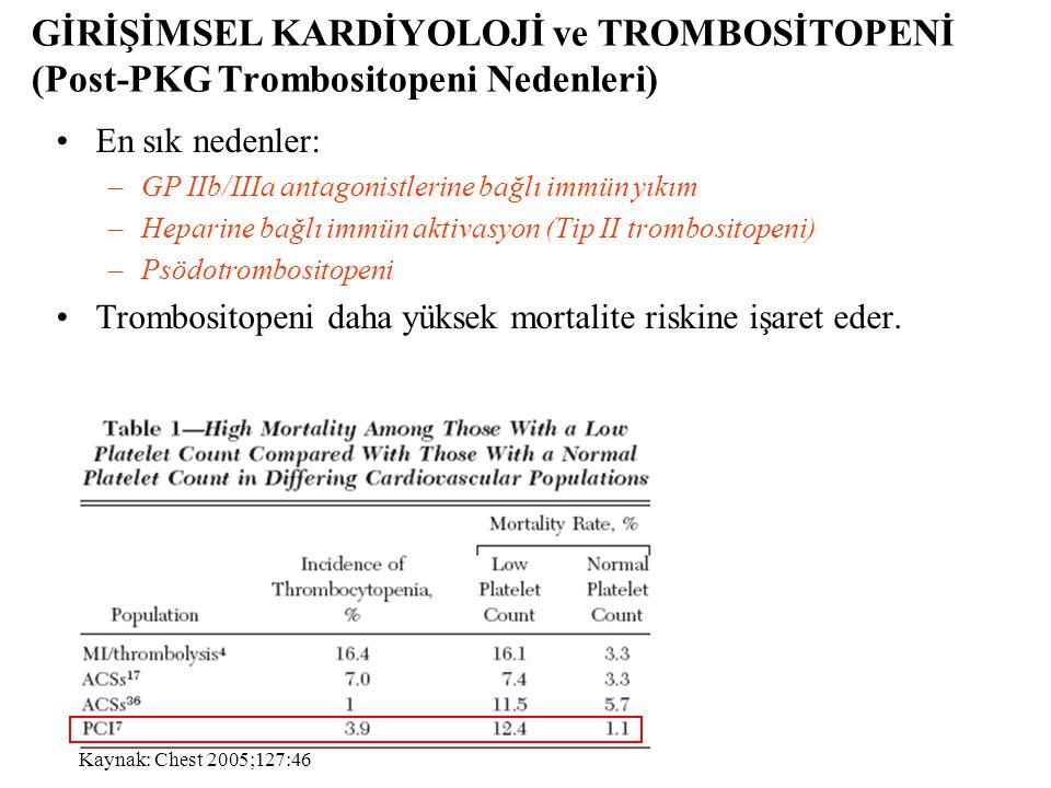 Psödotrombositopeni •Genel sıklık: 10 000 kan sayımında 9-21.