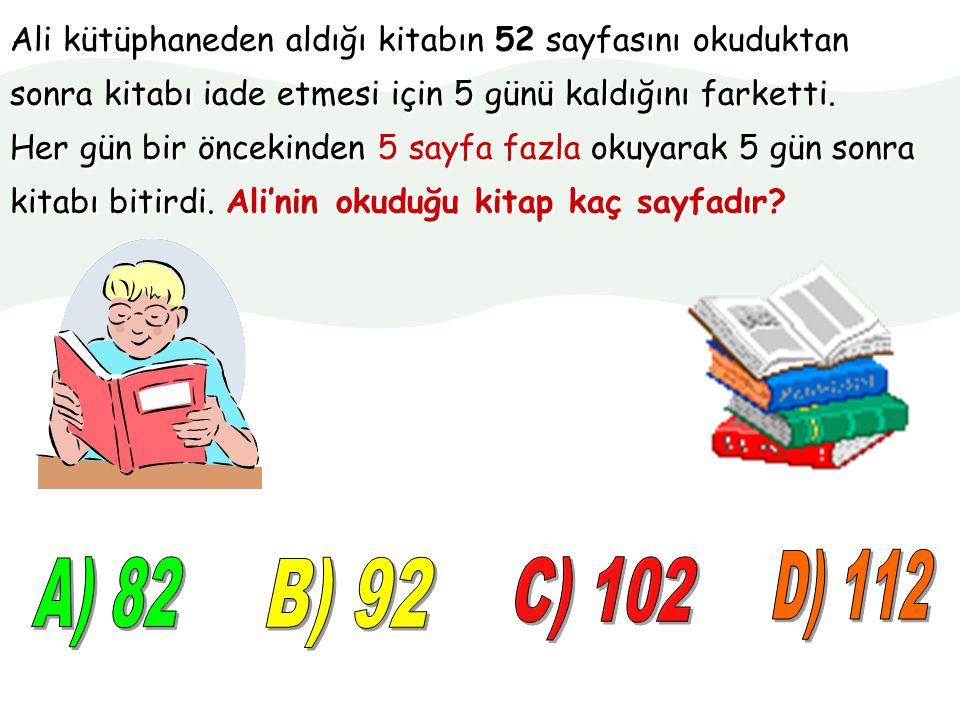 TEST ÇÖZÜYORUM Problem Çözelim 1 Matematik 4