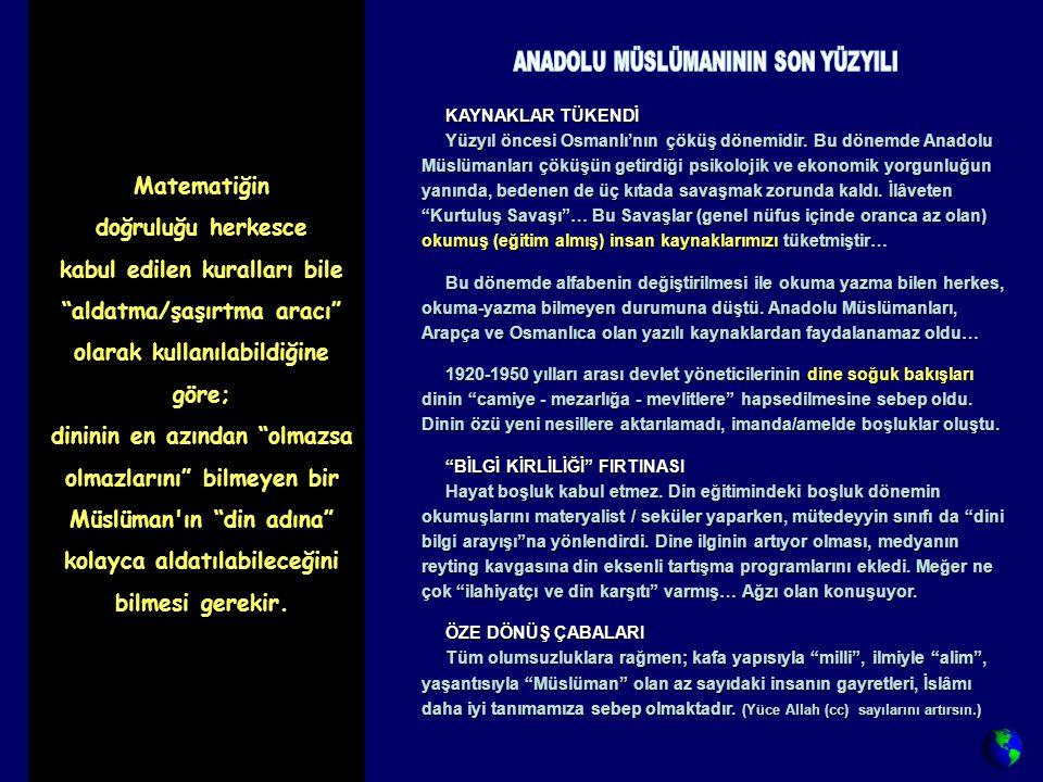 KAYNAKLAR TÜKENDİ KAYNAKLAR TÜKENDİ Yüzyıl öncesi Osmanlı'nın çöküş dönemidir.