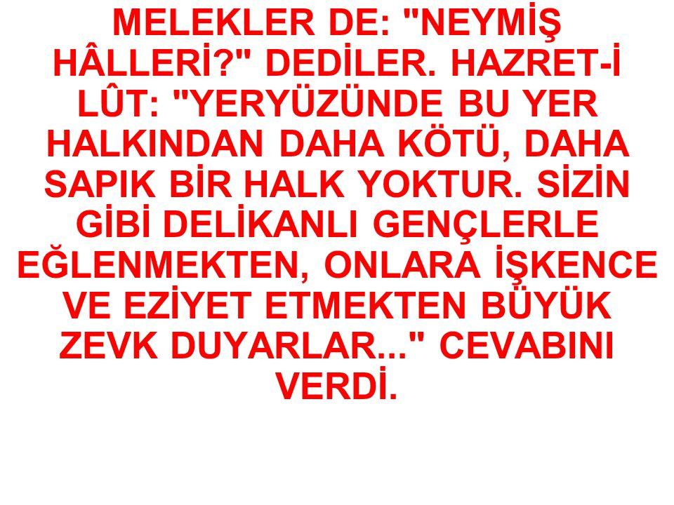 MELEKLER DE: