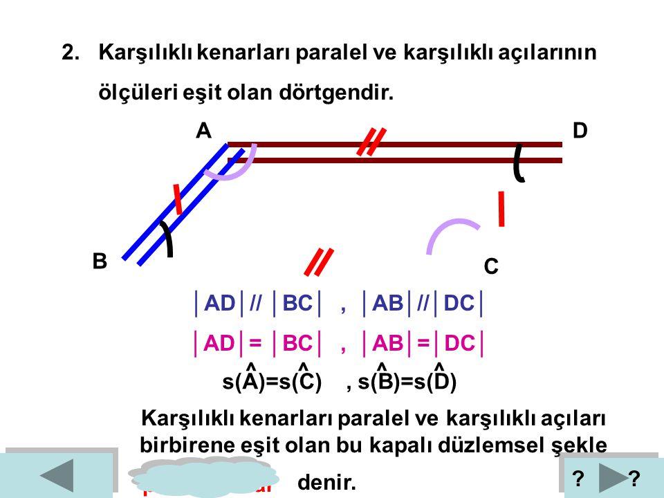 1. Altı kenarı olan geometrik şekildir. A B C D E F H L K I İ J 1 2 3 4 5 6 1 2 3 4 5 6 kenar açı Altı kenarı ve altı açısı olan bu kapalı düzlemsel ş