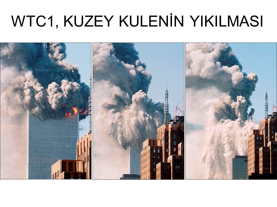 WTC1, KUZEY KULENİN YIKILMASI