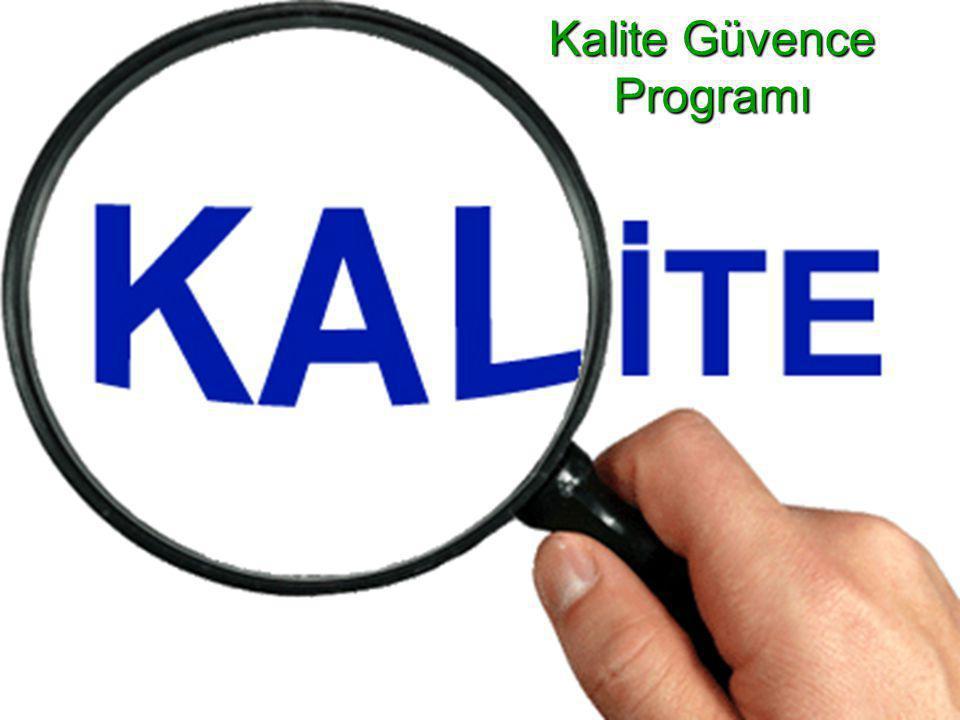  Test biriminin, çalışmaların İLU ilkelerine uygun şekilde yürütülmesini garanti altına almak üzere, yazılı bir kalite güvencesi programı bulunmalıdır.