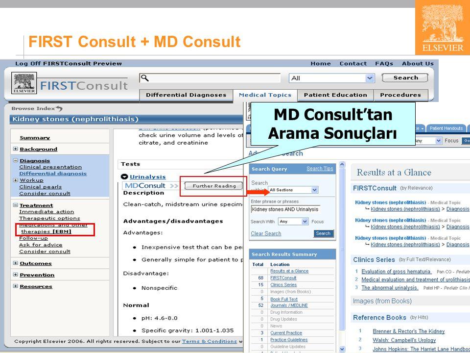 23 FIRST Consult + MD Consult MD Consult'tan Arama Sonuçları