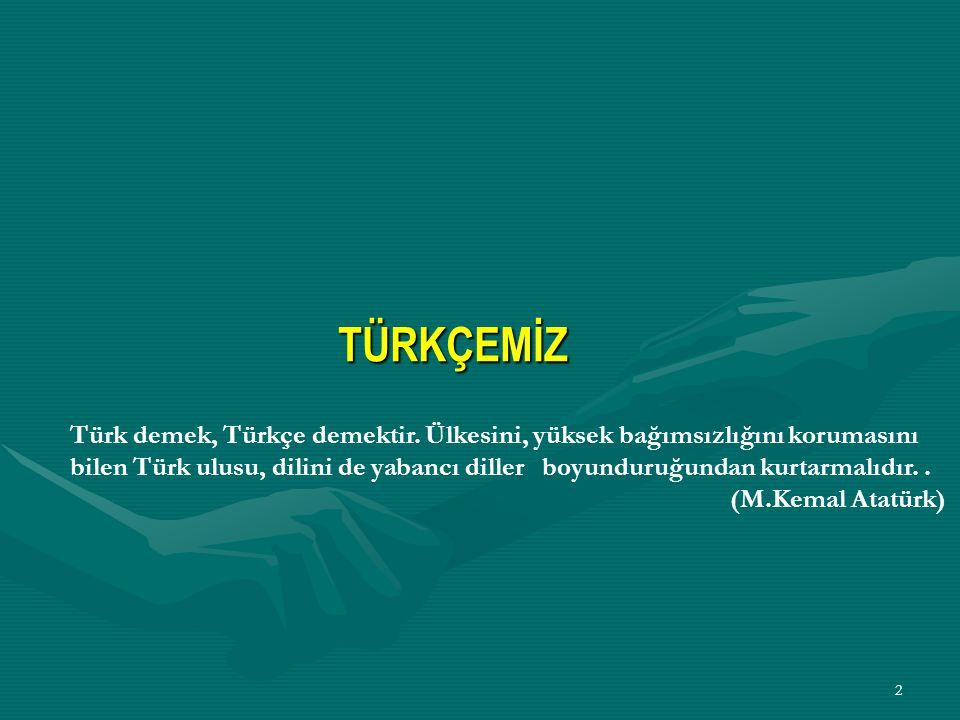1 Güzel Türkçemiz