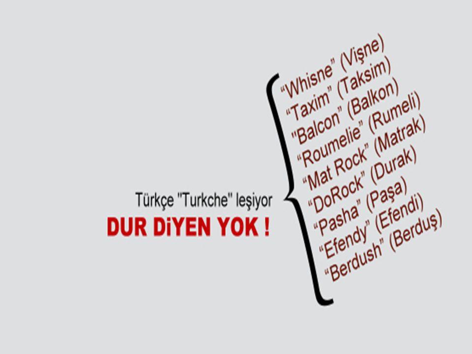 2 Türk demek, Türkçe demektir. Ülkesini, yüksek bağımsızlığını korumasını bilen Türk ulusu, dilini de yabancı diller boyunduruğundan kurtarmalıdır.. (
