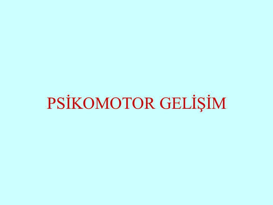 Halil KARAKUŞ PSİKOMOTOR GELİŞİM