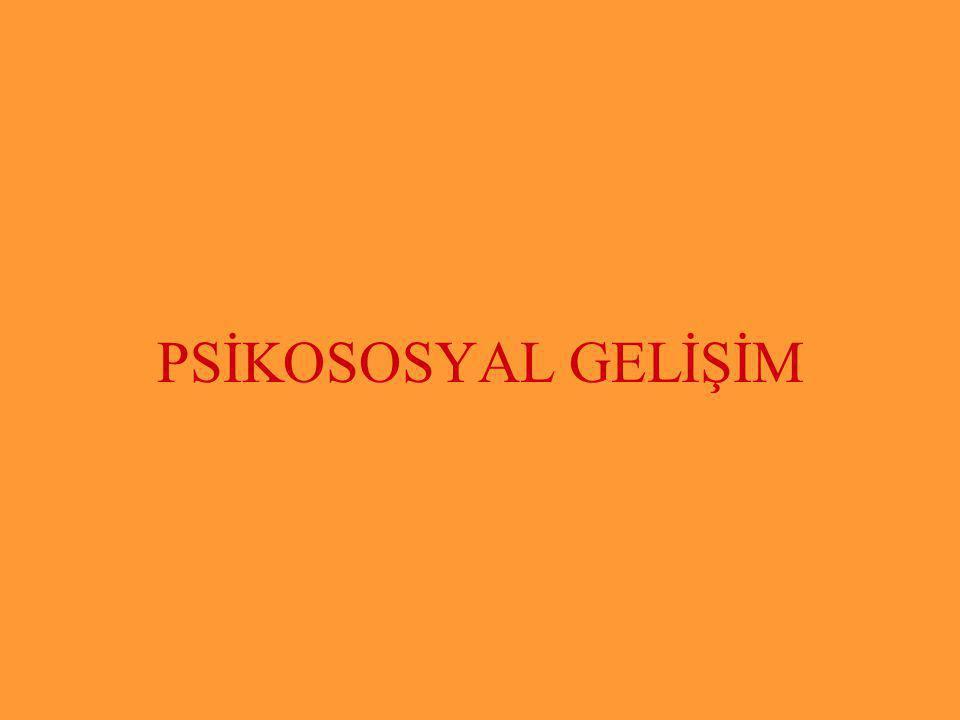 Halil KARAKUŞ PSİKOSOSYAL GELİŞİM